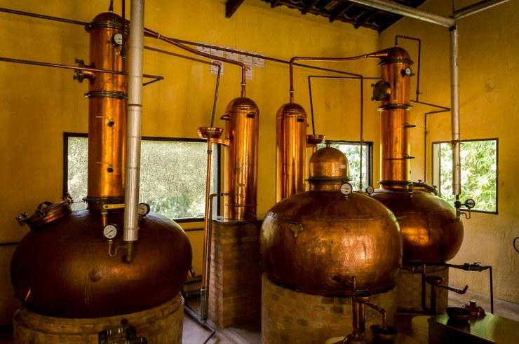 proceso de destilado