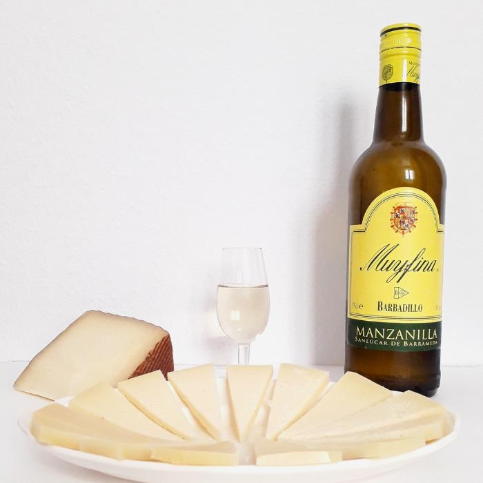 manzanilla y queso