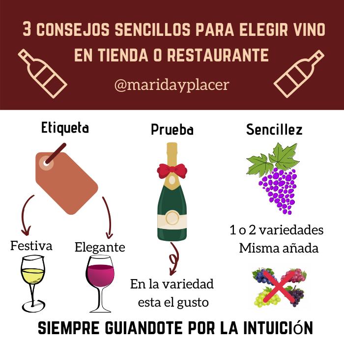 consejos para elegir vino