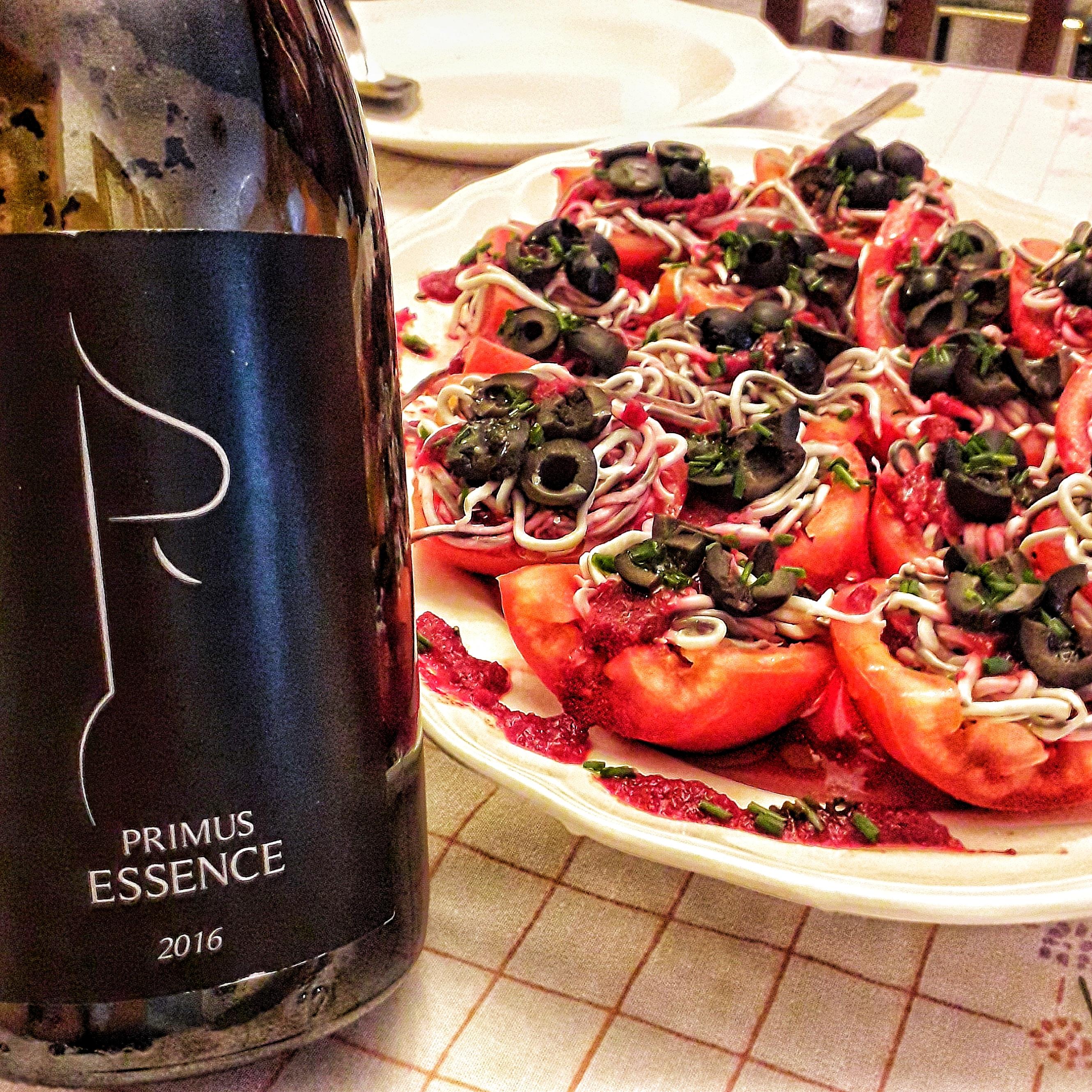 Primus Essence y tomates rellenos